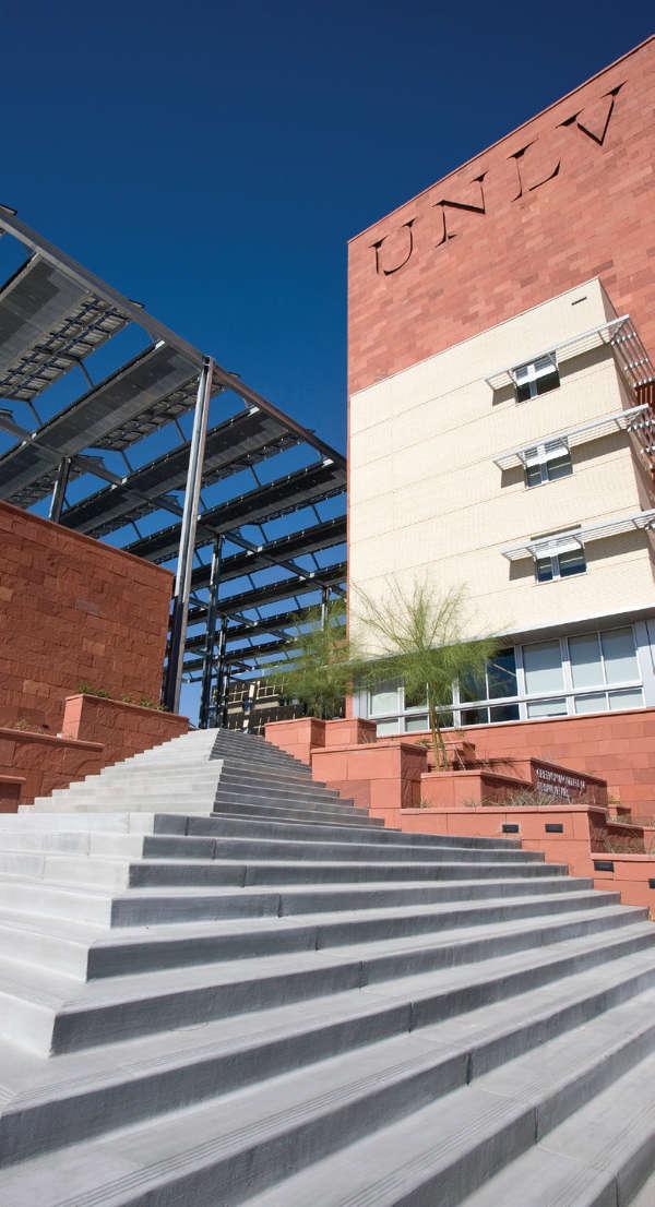Academic building at UNLV