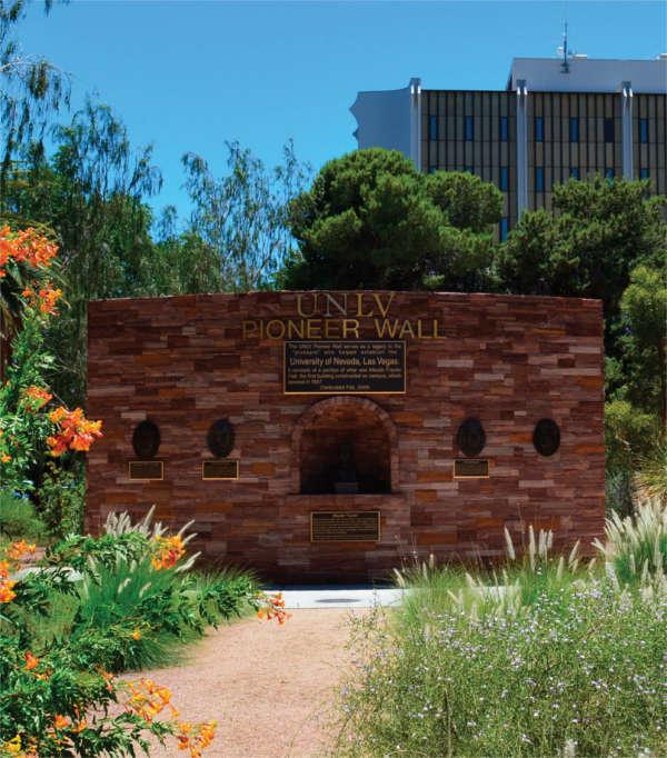 UNLV Pioneer Wall