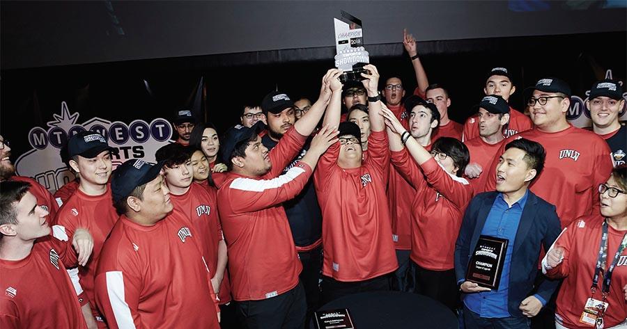 UNLV Esports team