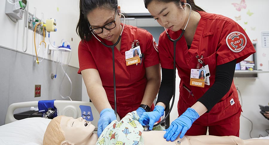UNLV Nursing Students