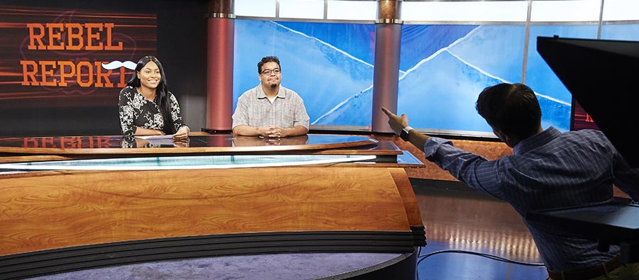UNLV tv studio